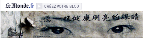 Le Monde's website integrates high-quality non-staff blogs like this one.
